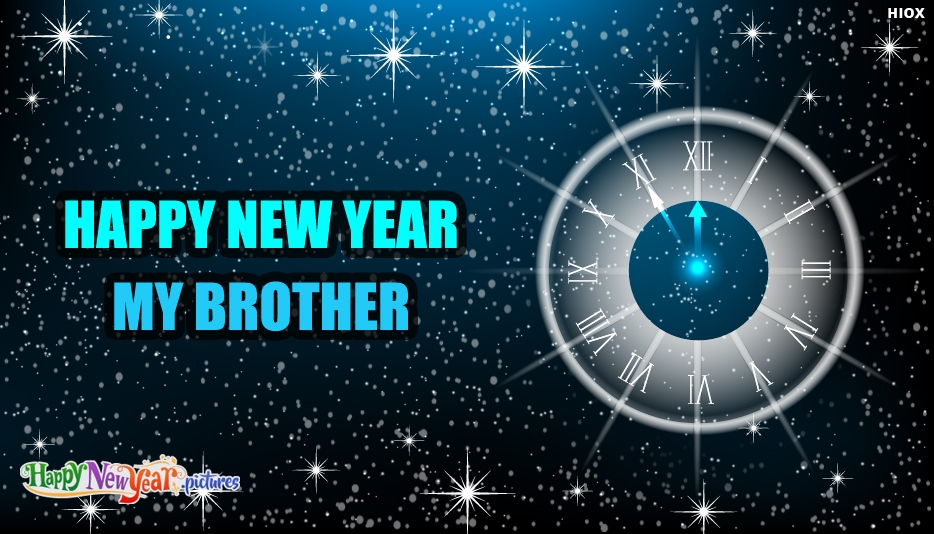 Happy New Year Wallpaper For Brother