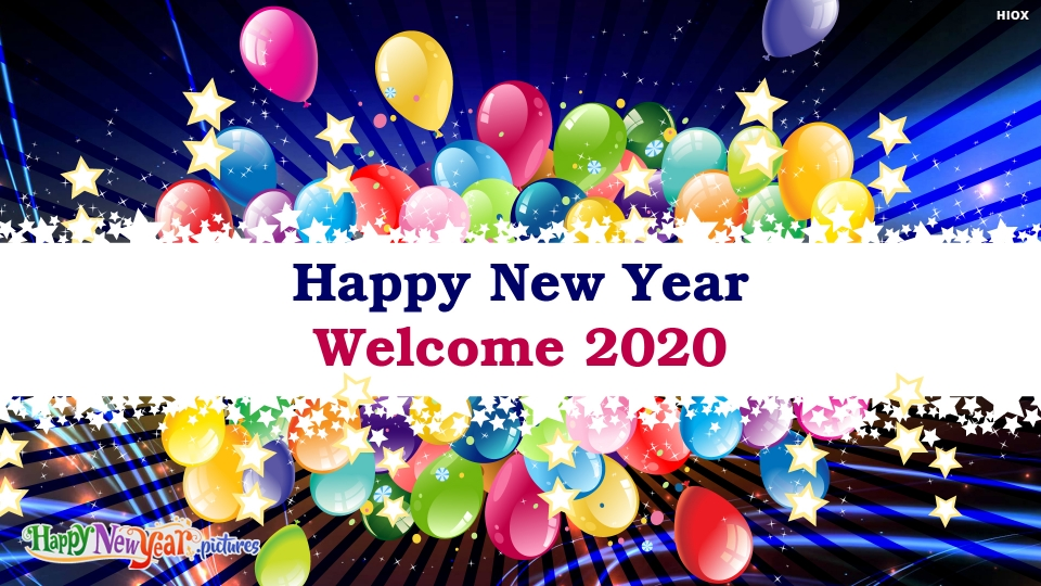 Happy New Year Welcome 2020 Image