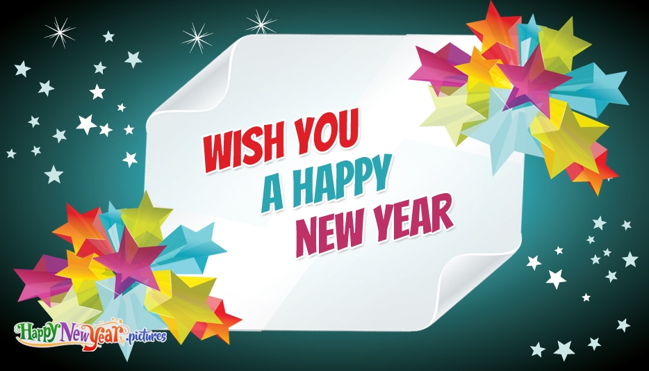 Happy New Year Wish - Happy New Year Images for Friends