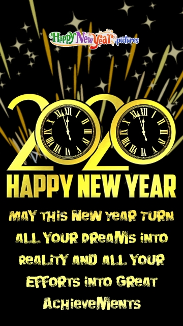Happy New Year Wishes One and All