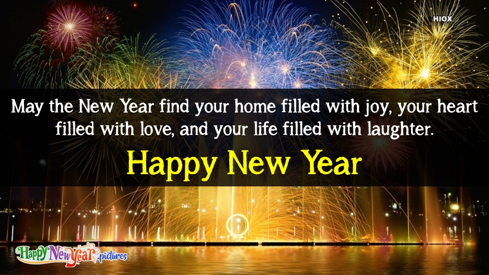 Happy New Year Wishes With Laughter and Love