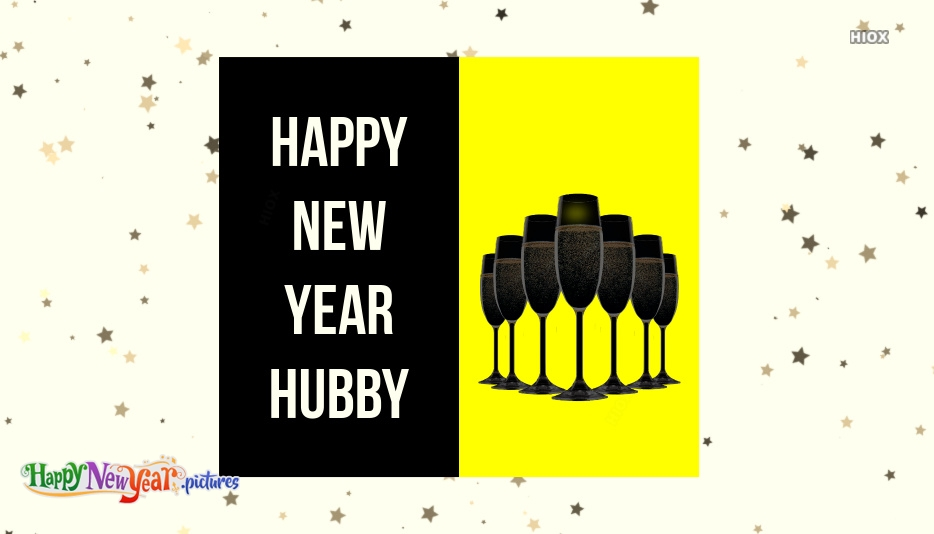Happy New Year Images for Hubby