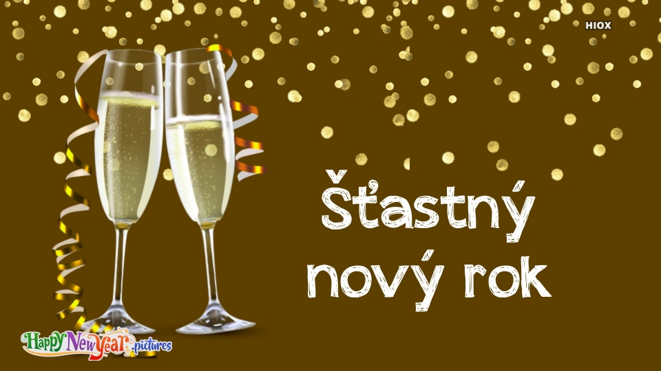 Happy New Year Wishes In Czech