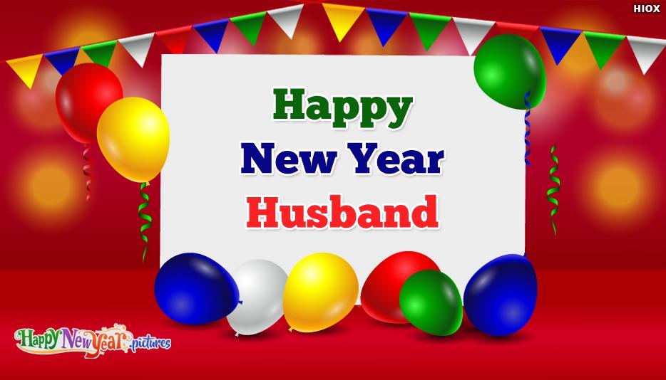 Happy New Year Wishes My Husband