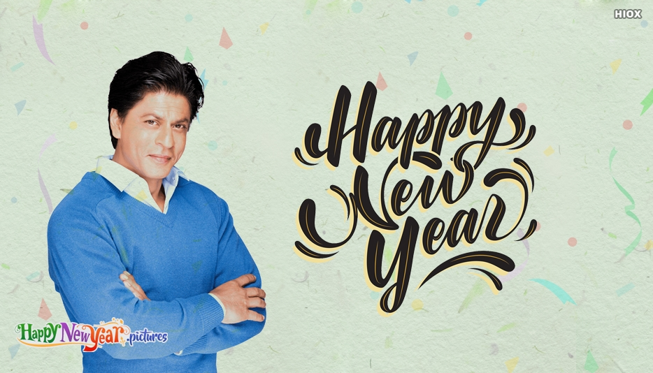 Happy New Year With Shahrukh Khan