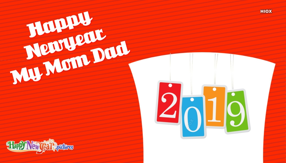 Happy New Year Images For Mom And Dad