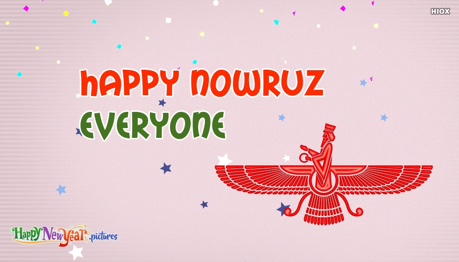Happy Nowruz Everyone - Happy New Year Images for Nowruz