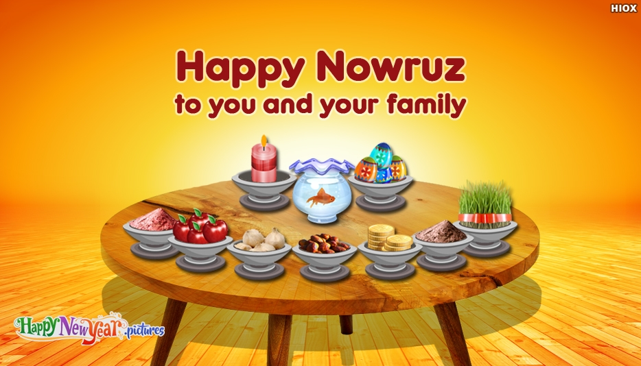 Happy Nowruz to You and Your Family - Happy New Year Images for Persian New Year 2017