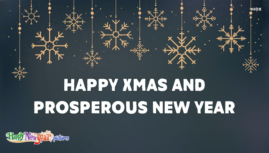 Happy Xmas and Prosperous New Year