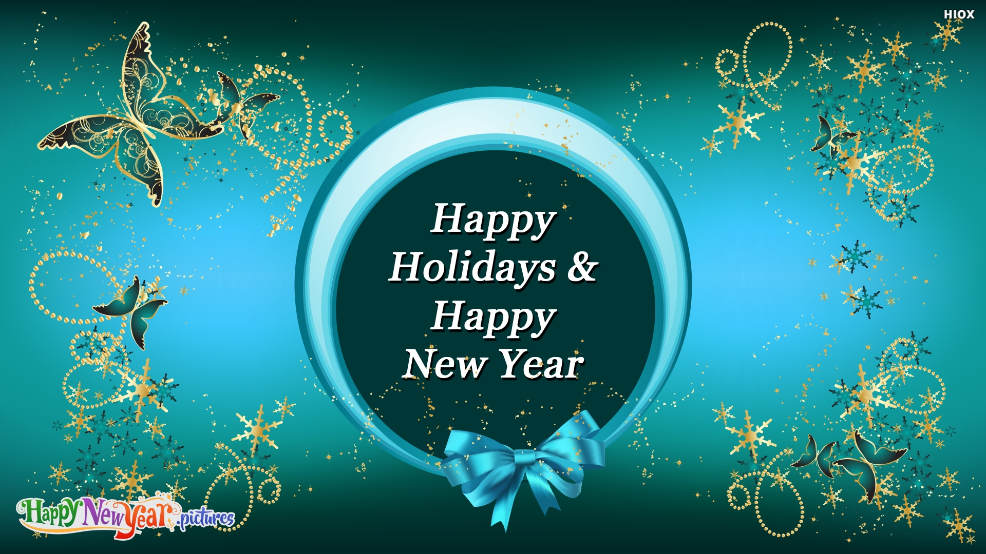 Happy Holidays and Happy New Year Wishes To One and All
