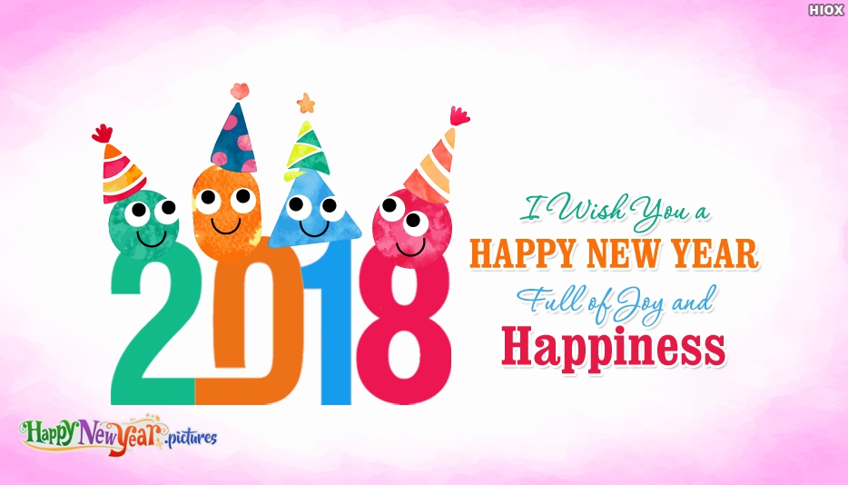I Wish You A Happy New Year Full Of Joy and Happiness