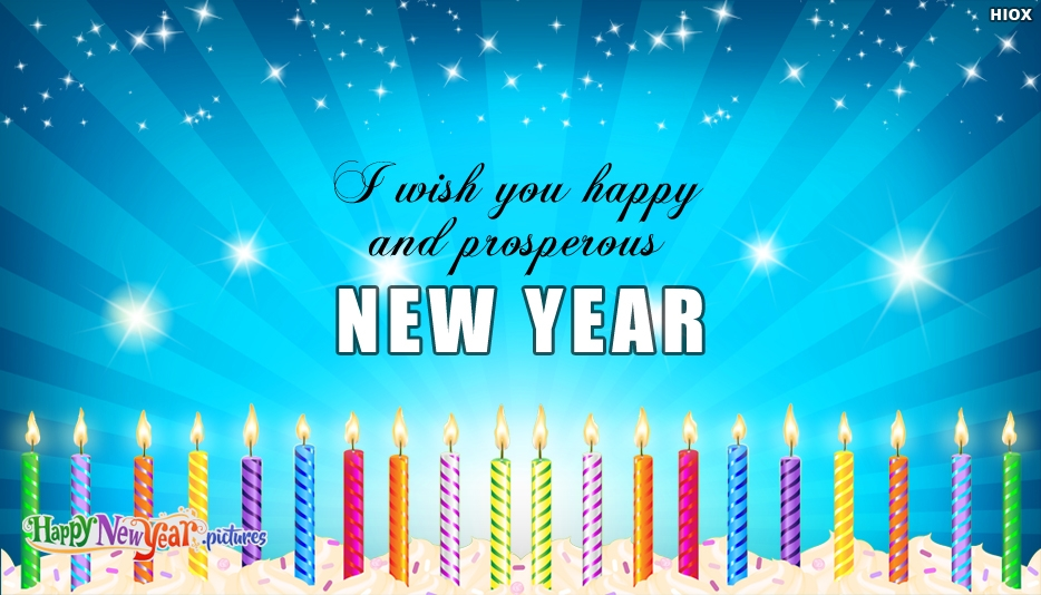 I Wish You Happy and Prosperous New Year