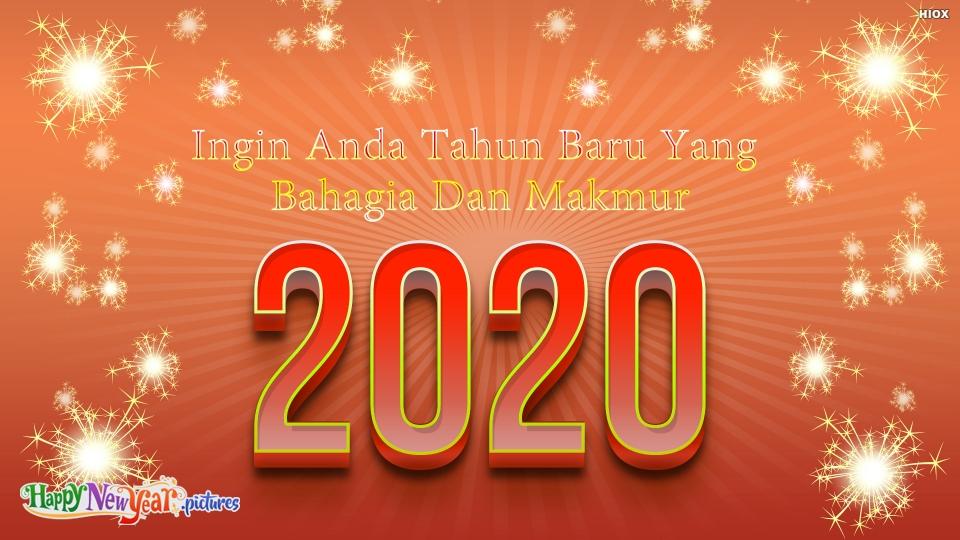 Ingin Anda Tahun Baru Yang Bahagia Dan Makmur