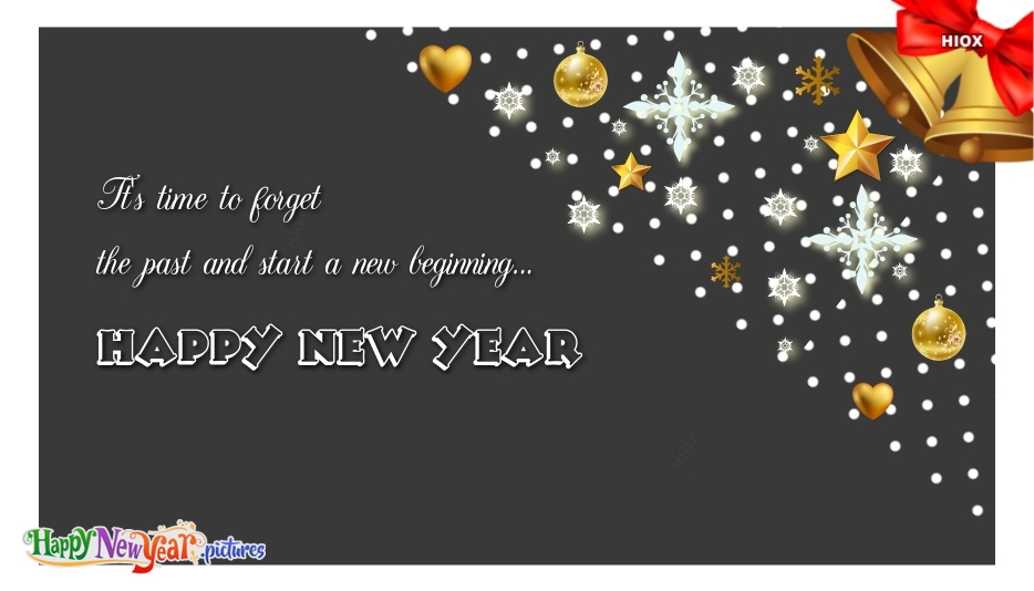 Happy New Year New Beginning Quotes, Messages