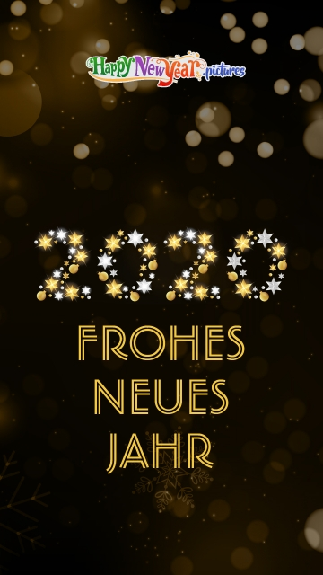 Joyous Happy New Year 2020 Wishes In German