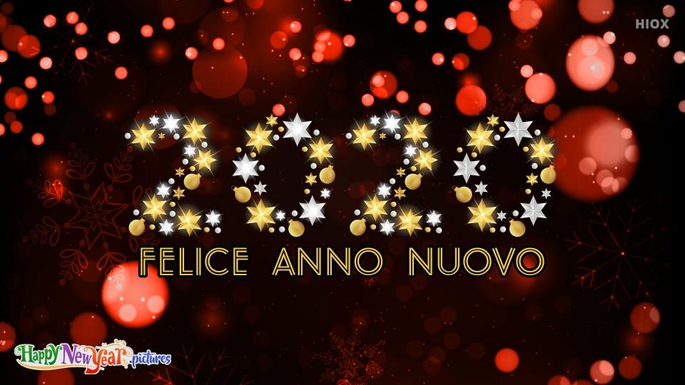 Joyous Happy New Year 2020 Wishes In Italian