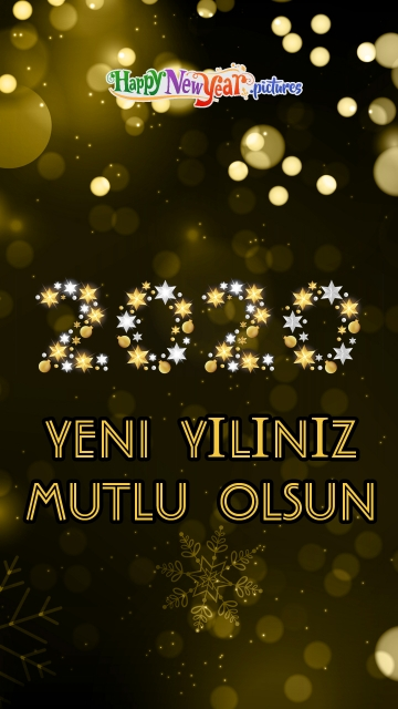 Joyous Happy New Year 2020 Wishes In Turkish