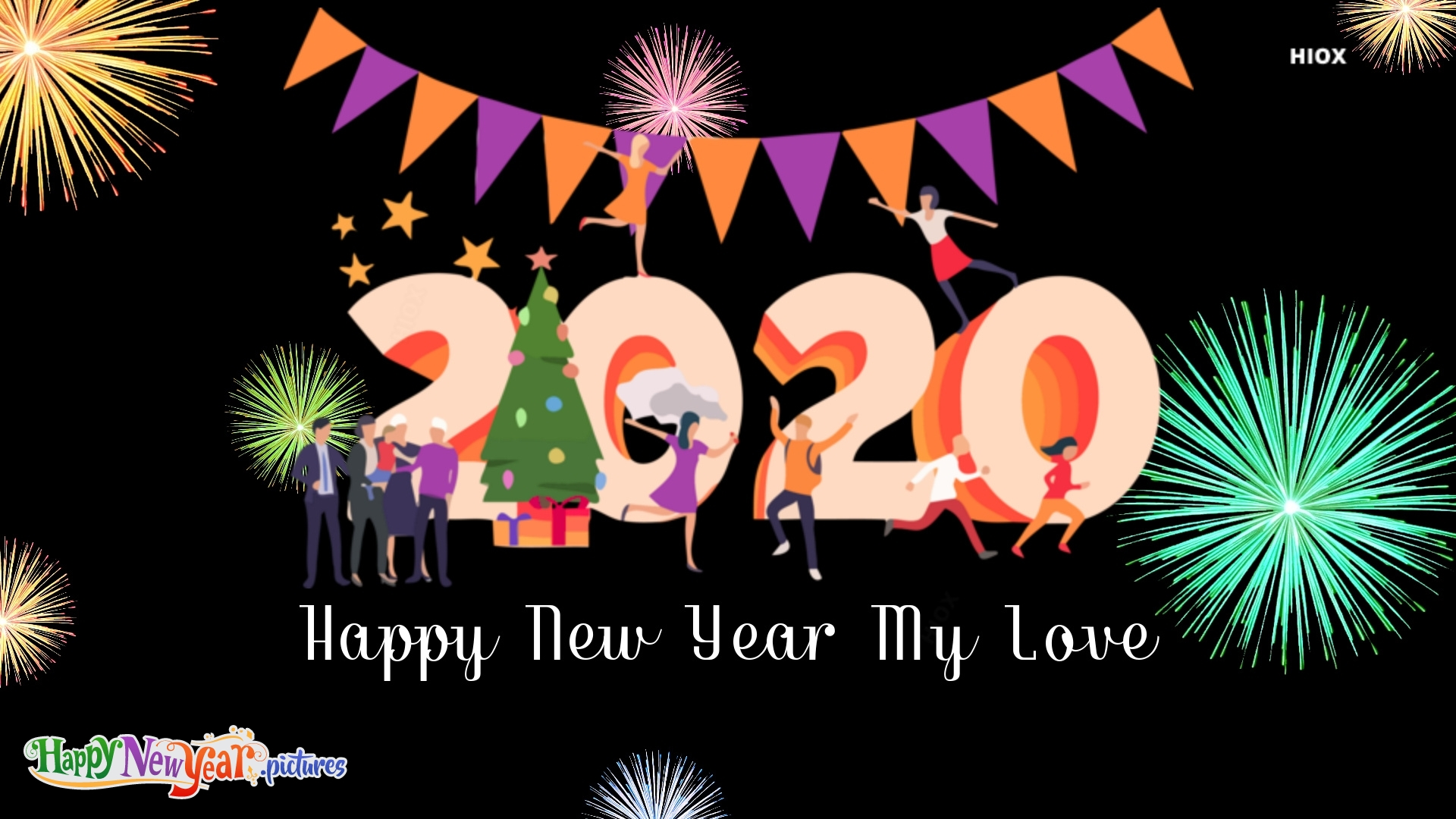 Lovely Happy New Year My Love