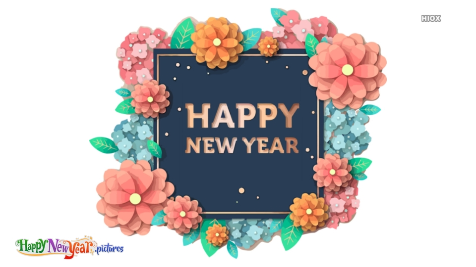 Attractive Happy New Year Wishes Pictures