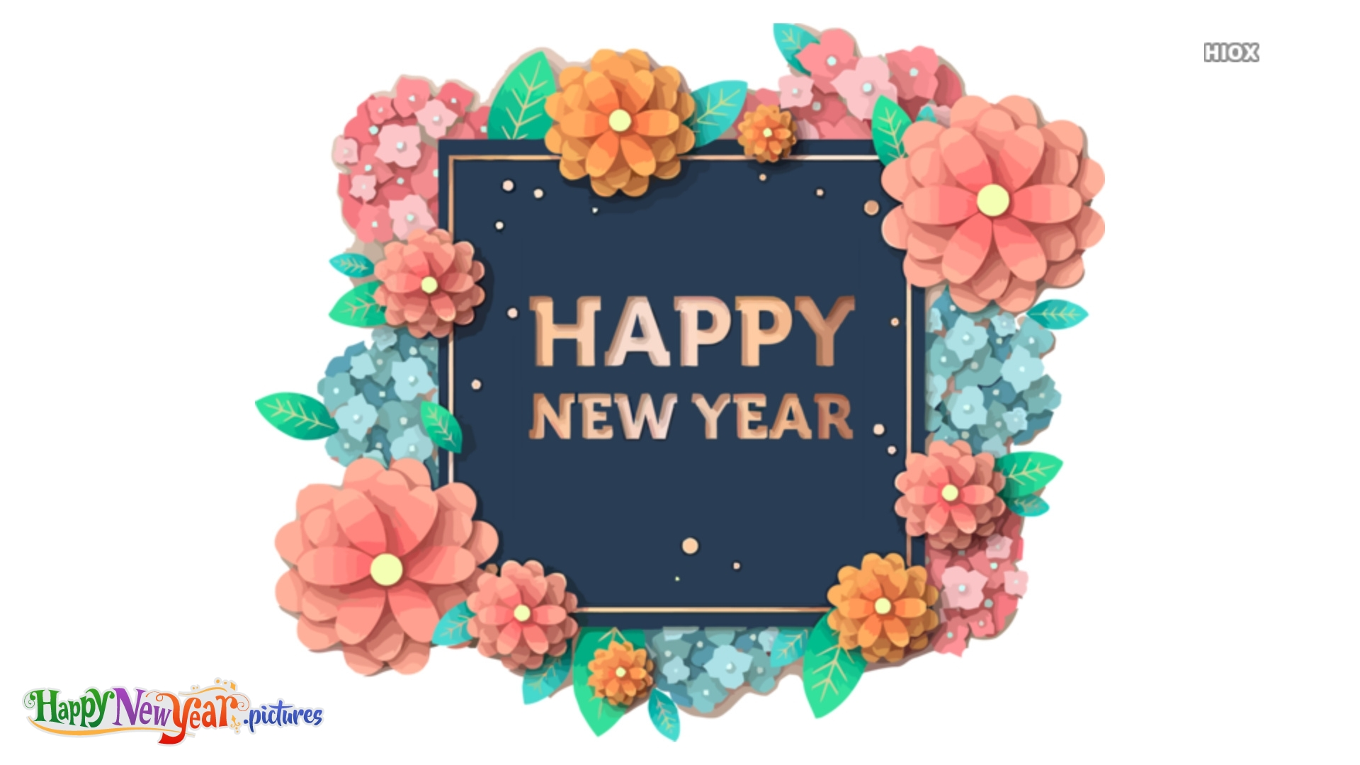 Lovely Happy New Year Wishes To All