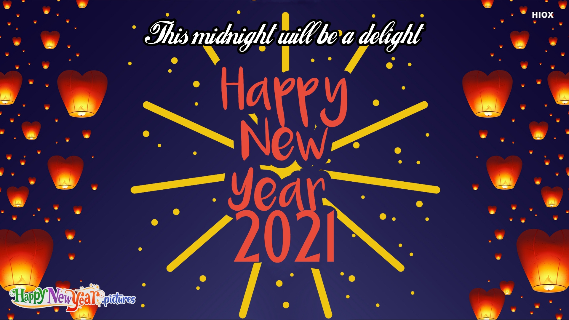 This Midnight Will Be A Delight. Happy New Year.
