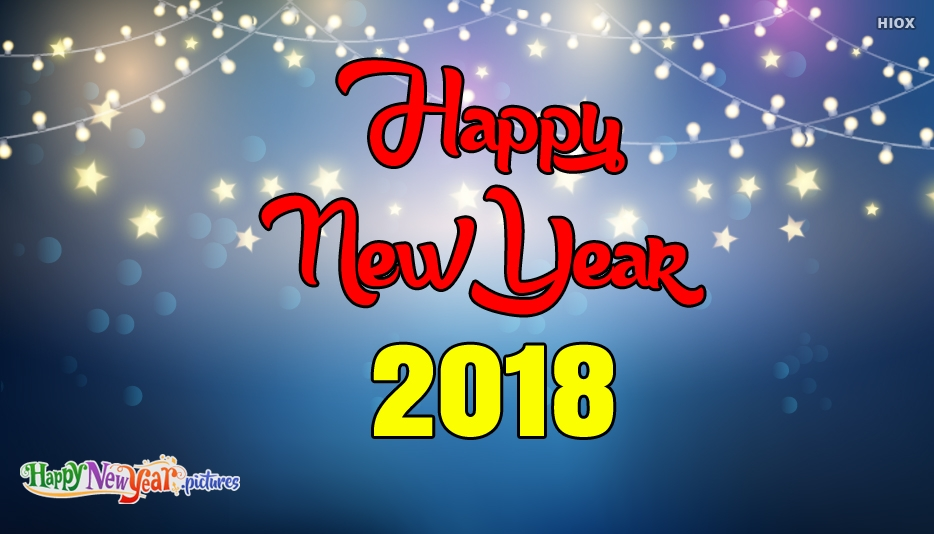 New Year 2018 - Happy New Year Images for Everyone