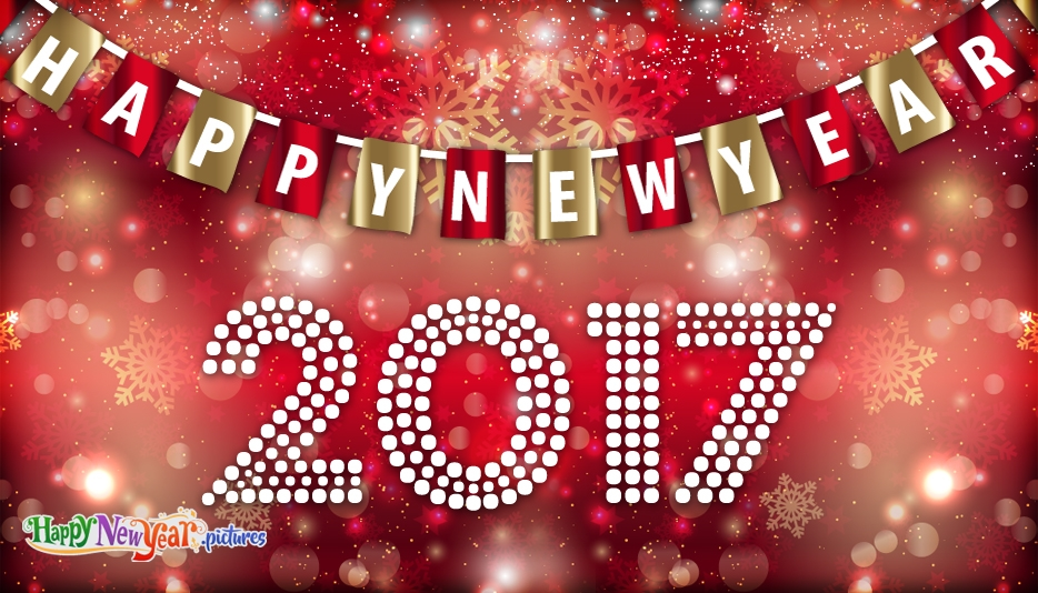 New Year Facebook Status - Happy New Year Images for 2017