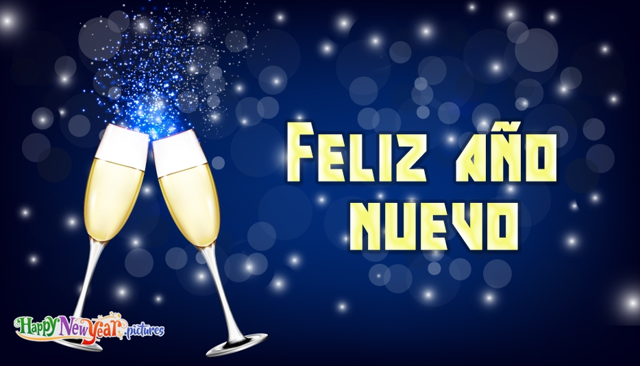 New Year Wishes Spanish - Happy New Year in Different Languages