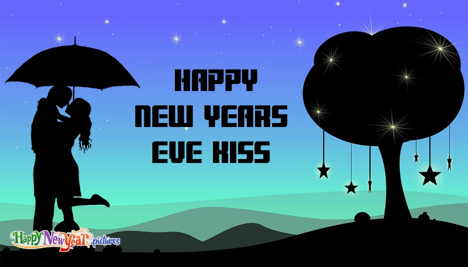 New Years Eve Kiss - Happy New Year Images for Lover