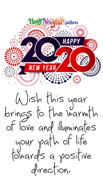 Positive Happy New Year Wishes To All