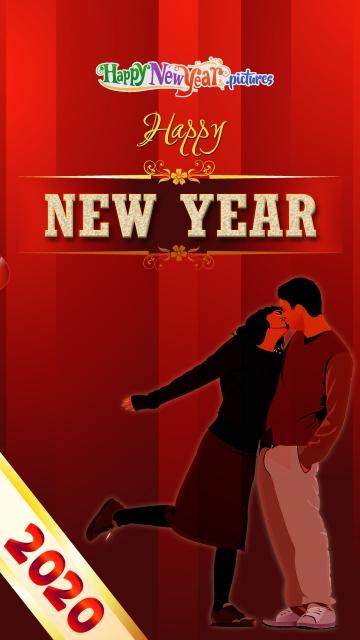 Romantic Happy New Year My Love