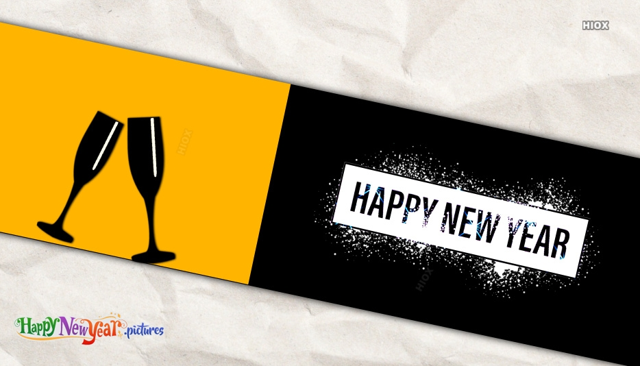 Simple New Year Card Design