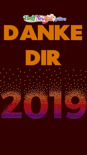 Thank You 2019 In German
