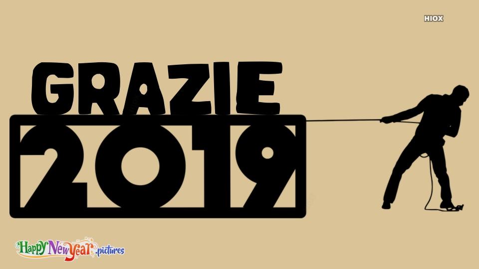 Thank You 2019 In Italian