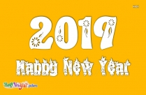 2019 Happy New Year Wallpapaer