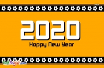 Happy New Year 2020 Text