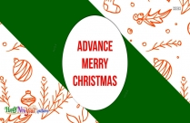 Advance Christmas Wish