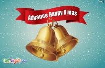 Advance Happy X Mas