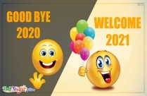 Goodbye 2020. Welcome 2021!