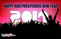 Happy And Prosperous New Year