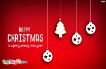 Happy Christmas And A Prosperous New Year Image