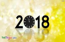 Happy New Year 2018 Facebook Status