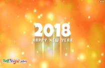 Happy New Year 2018 Hd Wallpaper
