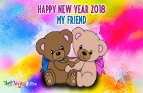 Happy New Year To You My Dear