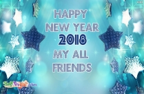 Happy New Year 2018 My All
