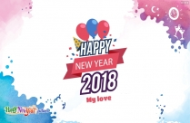 Happy New Year 2018 My Love