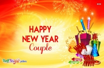 Happy New Year Couple Image