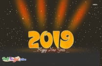 Happy New Year Pic 2019