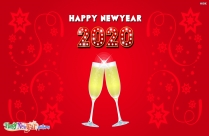 Happy New Year Background 2020