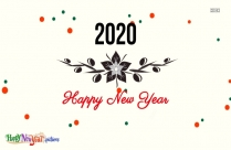Happy New Year 2020 Love